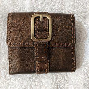 Cole Haan Leather Wallet (Bronze)